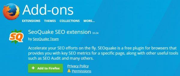 SEOquake Plugin: Công cụ cực tuyệt vời để check SEO